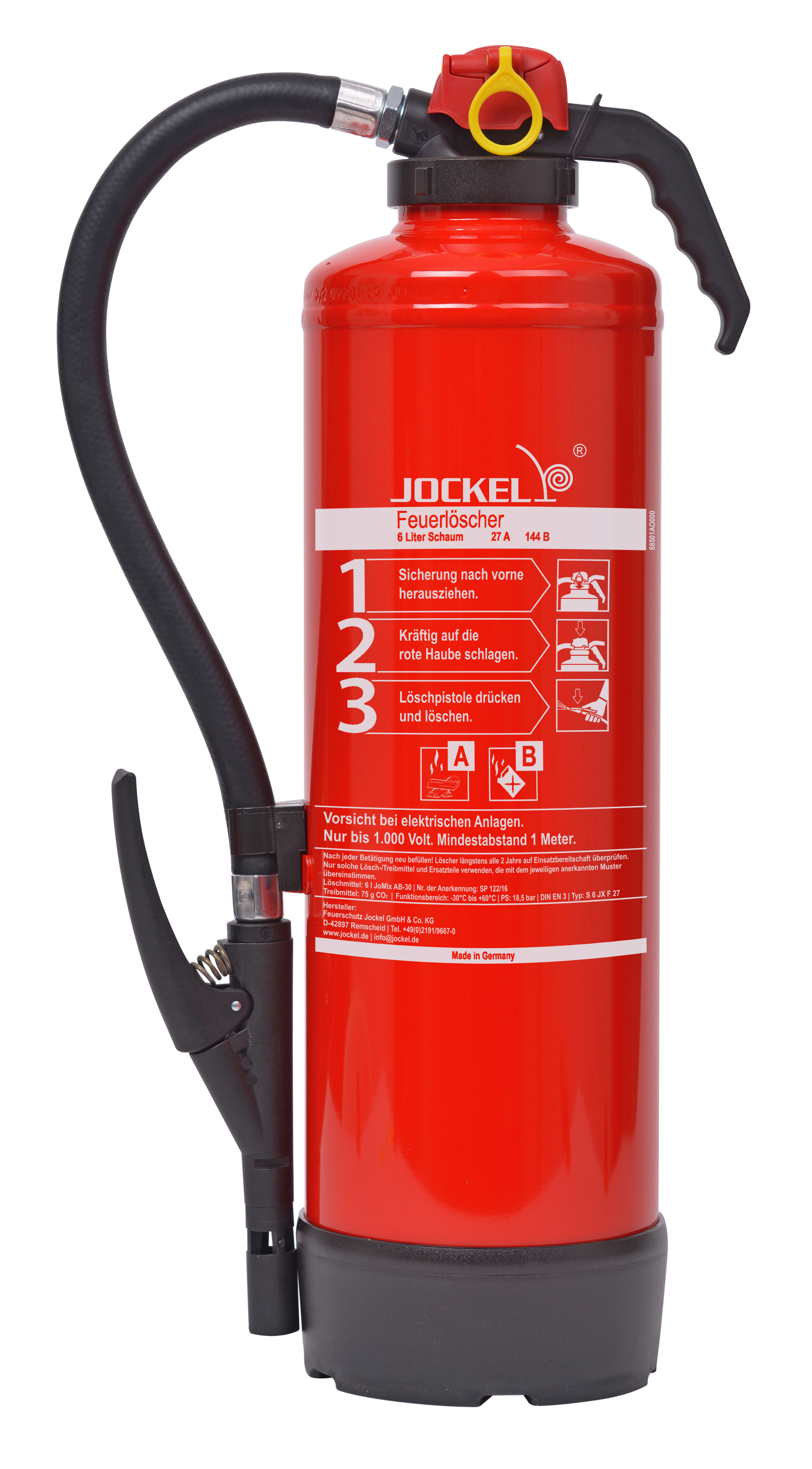 Jockel Feuerlöscher S 6 JX F 27 Classic